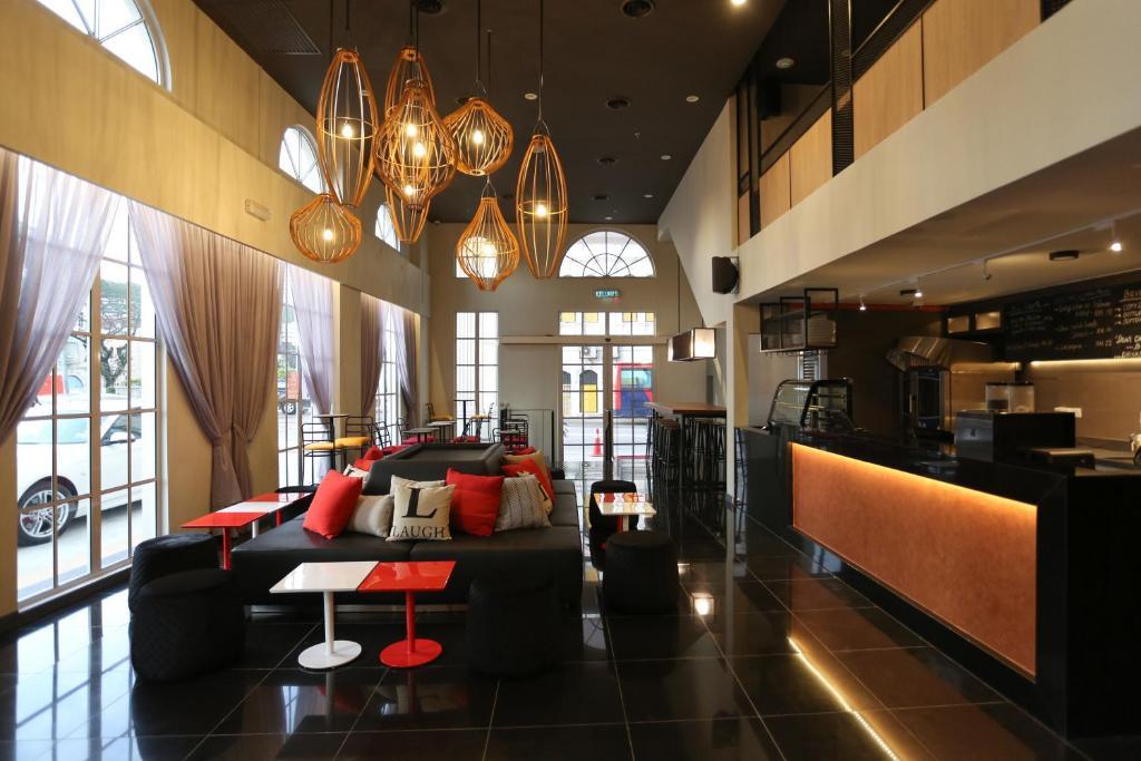 Lounge oder Bar in der Unterkunft Avenue J Hotel, Central Market