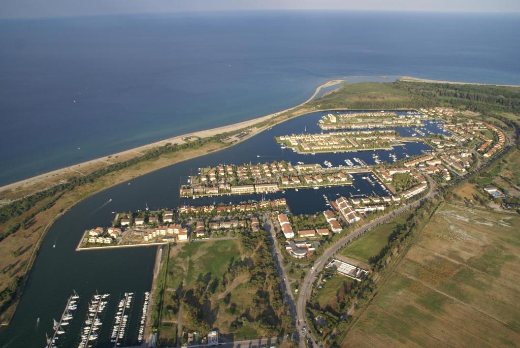 Vista aerea di Residence La Bricola