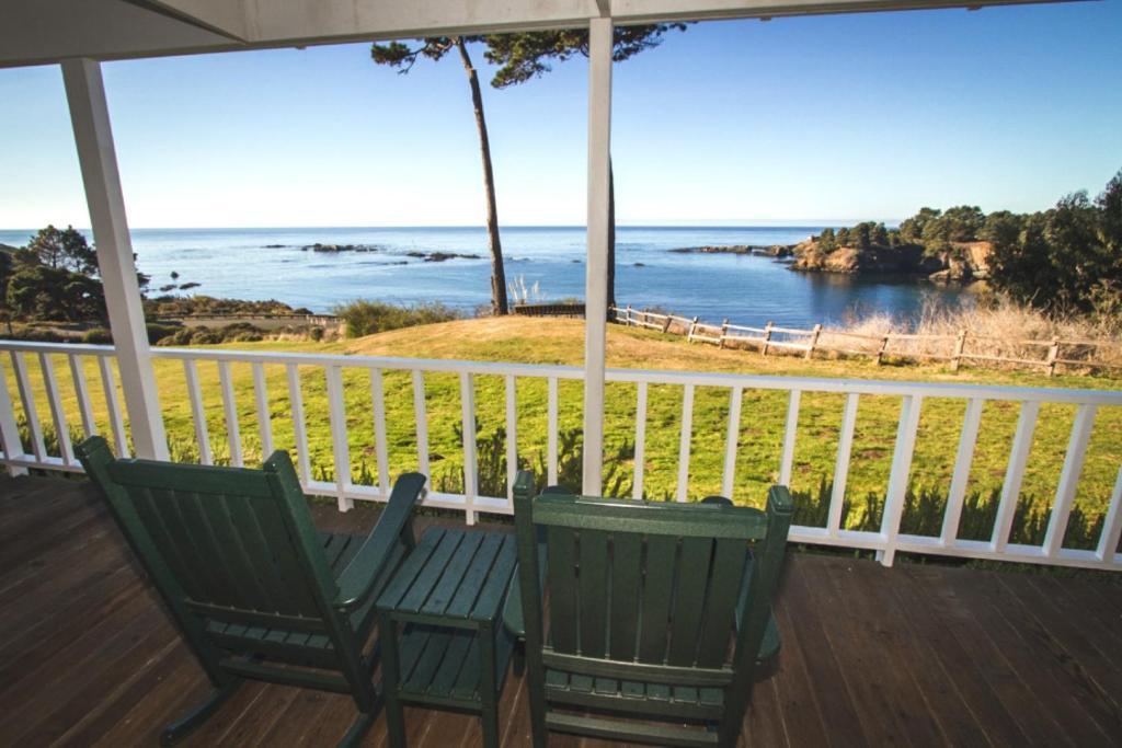 A balcony or terrace at Little River Inn