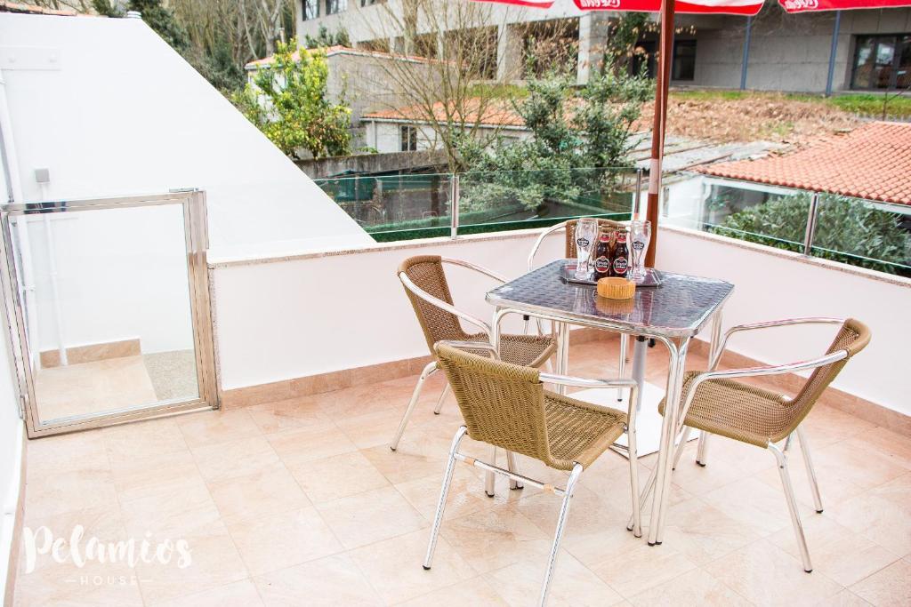 Un balcón o terraza de Pelamios House