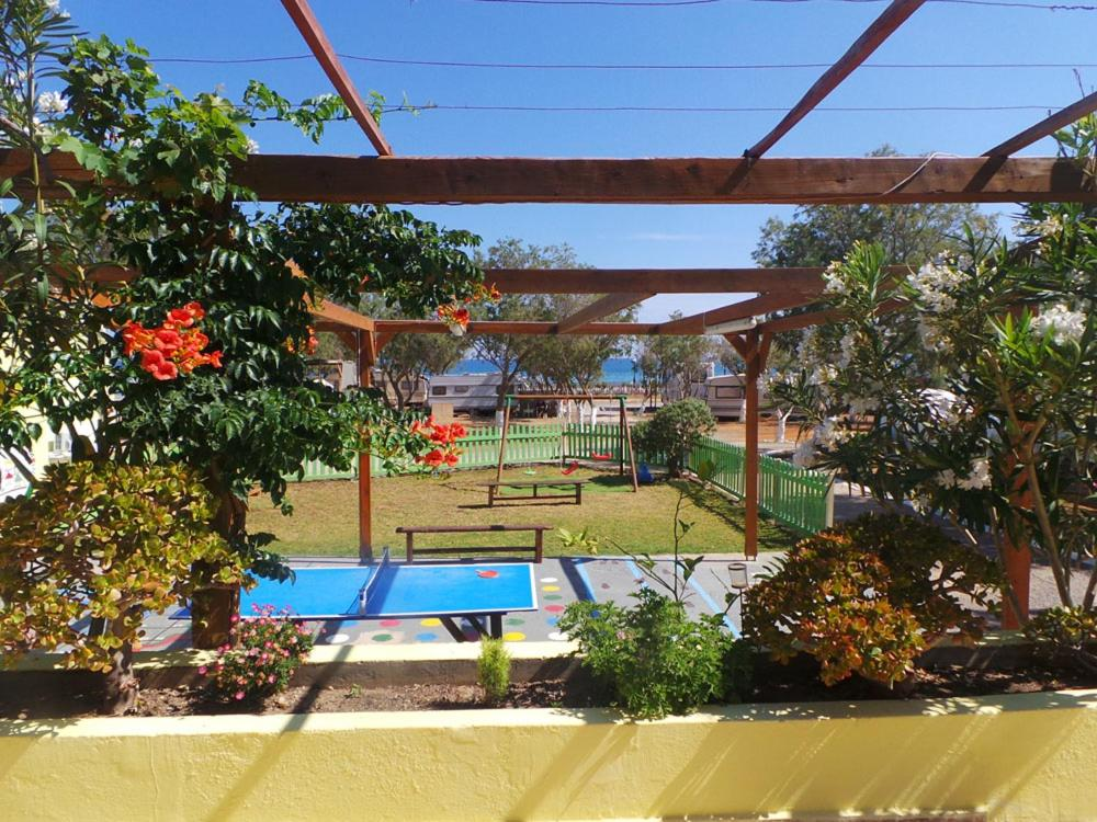A view of the pool at Creta Camping or nearby
