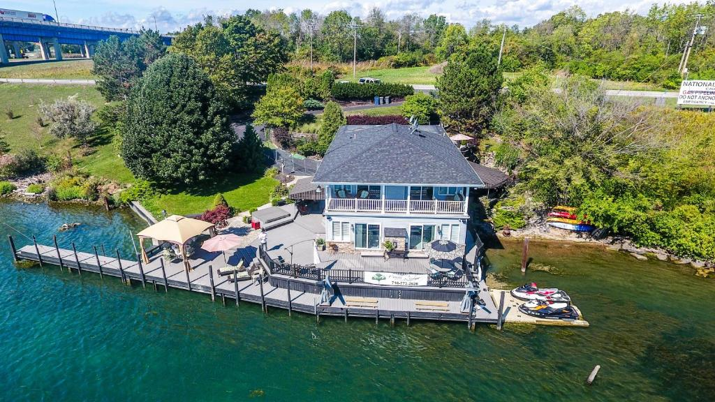 A bird's-eye view of South Bridge Bed and Breakfast