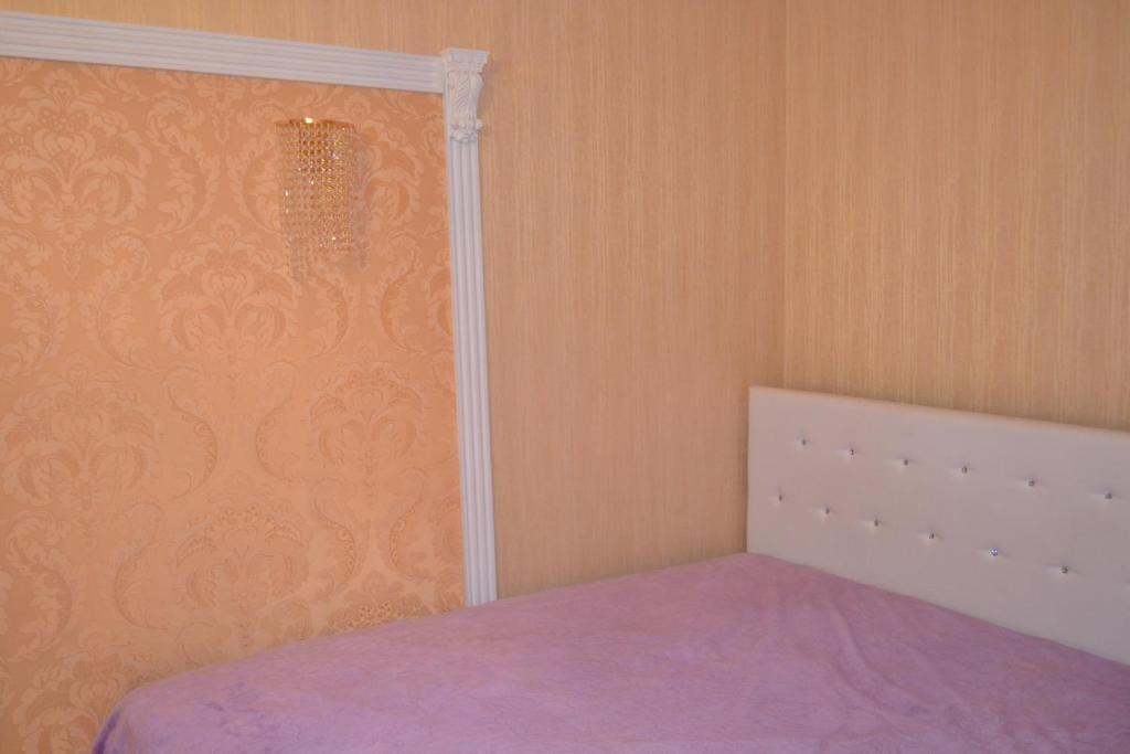Кровать или кровати в номере 2 х ком квартира на ул Горького дом 37