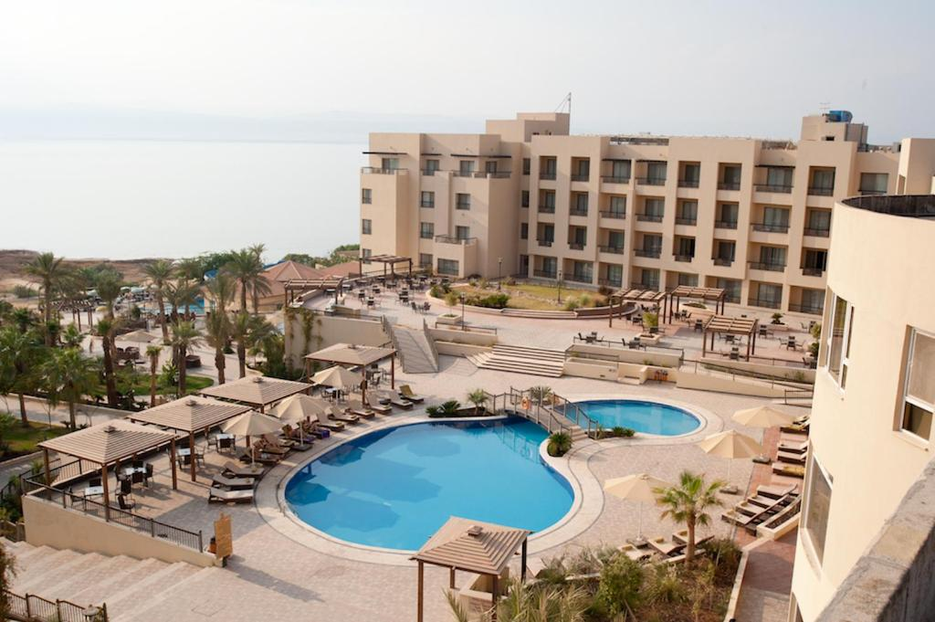 A view of the pool at Dead Sea Spa Hotel or nearby