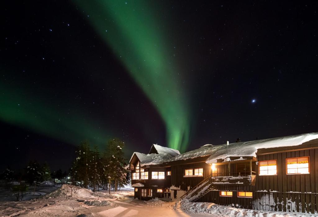 Fell Centre Kiilopää, Hotelli Niilanpää talvella