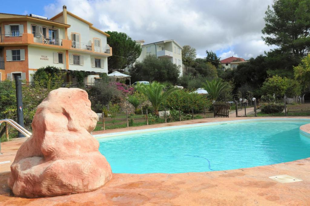 The swimming pool at or near Villa Agnese
