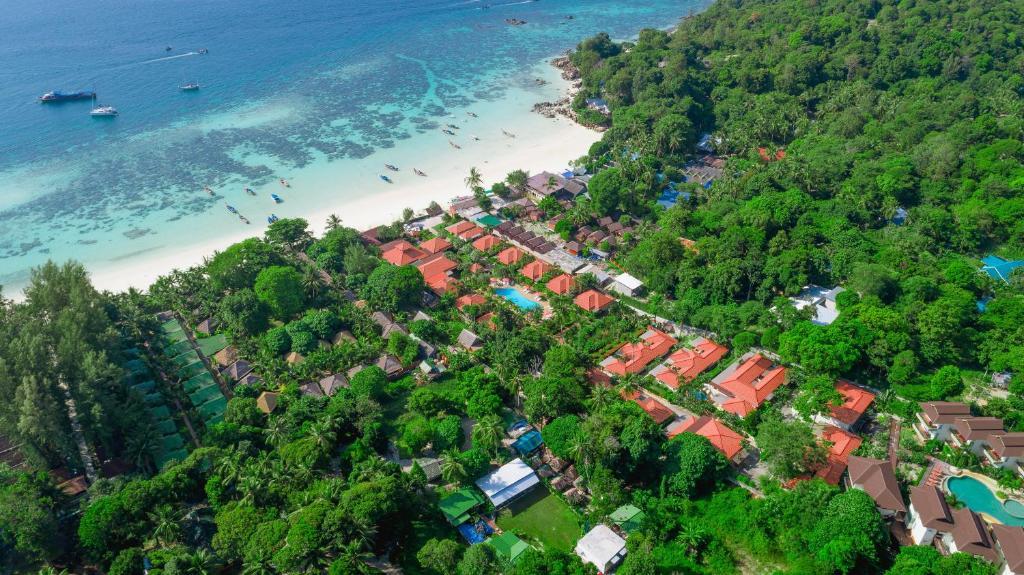 Blick auf Sita Beach Resort aus der Vogelperspektive