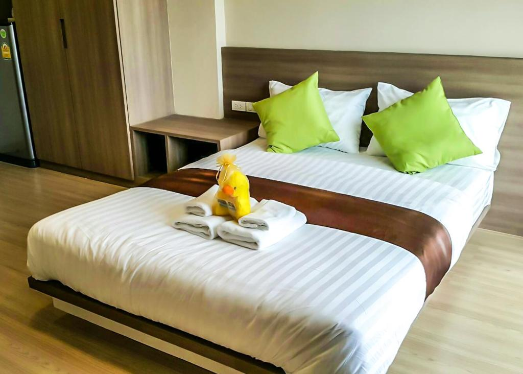 A bed or beds in a room at Perfect Smart Life