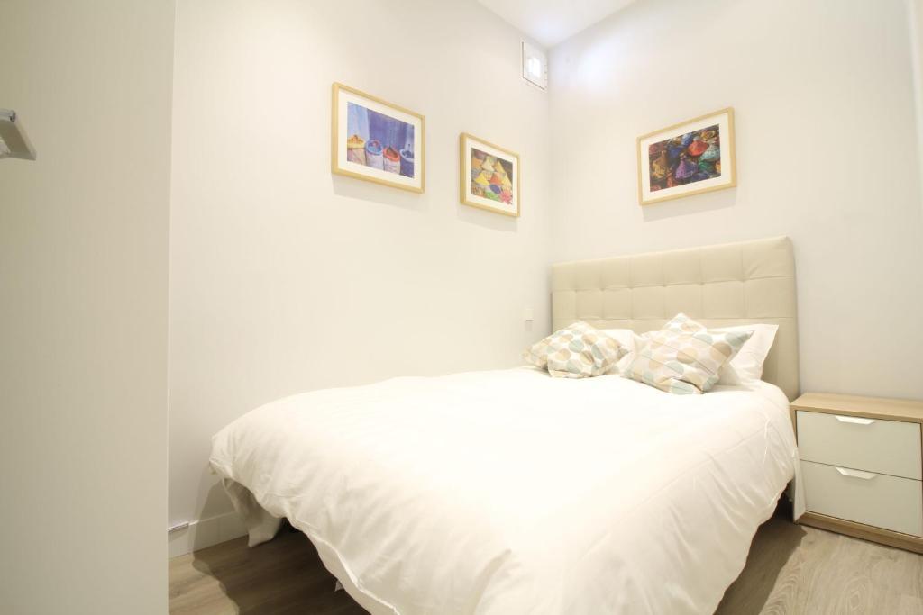 Cama o camas de una habitación en Apartamento Cabestreros