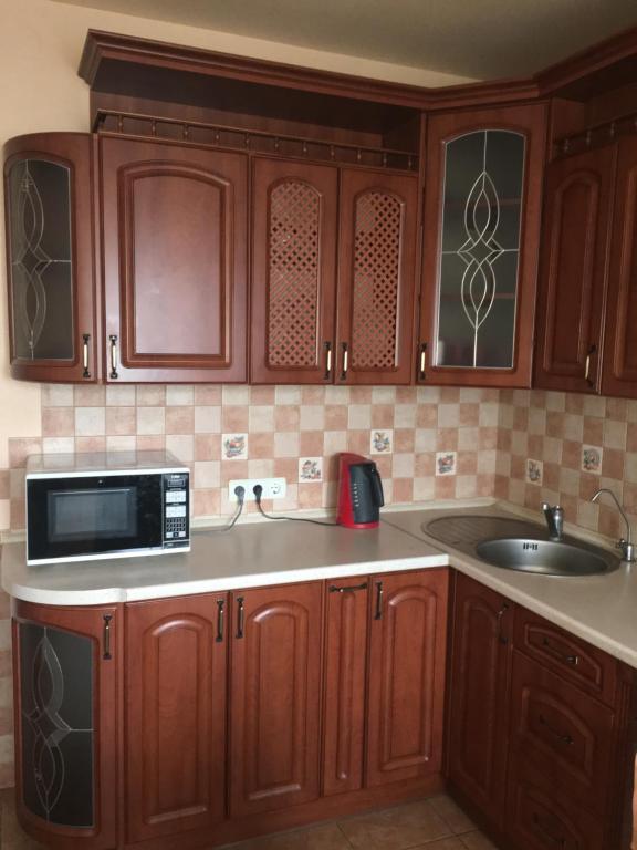 Кухня или мини-кухня в Аpartment Maraunenhof