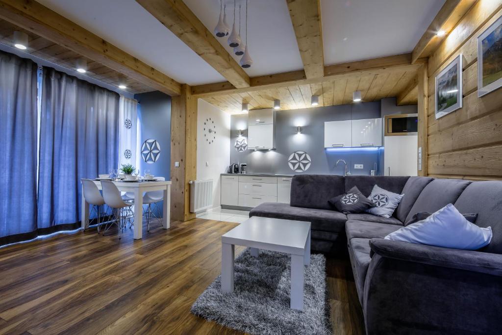 Część wypoczynkowa w obiekcie Apartament Tatrzanski Raj