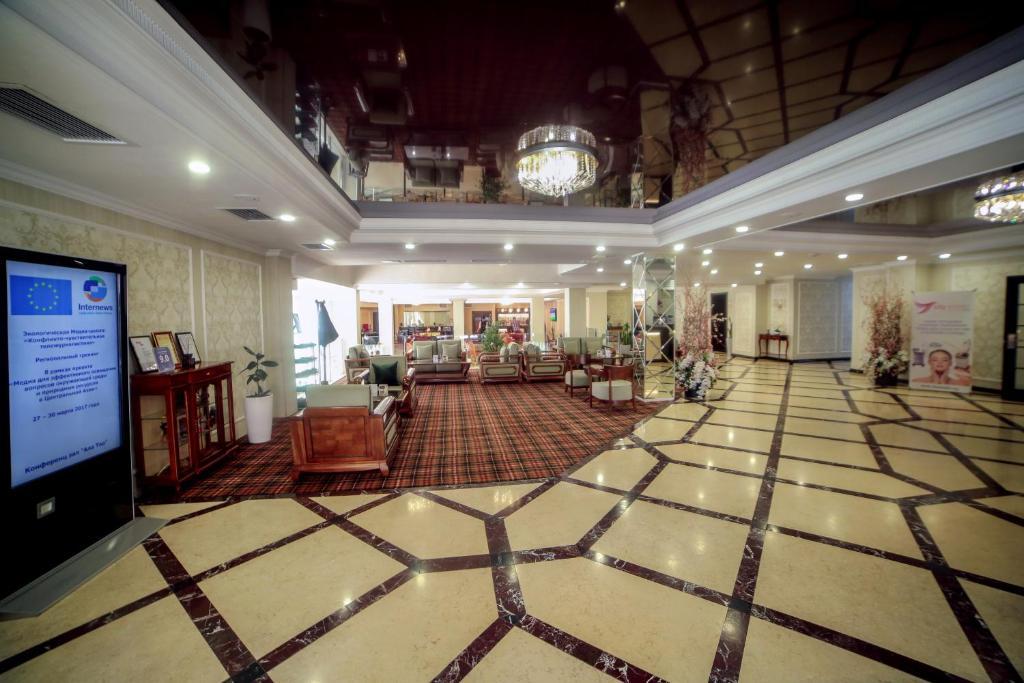 Лобби или стойка регистрации в City Hotel Bishkek