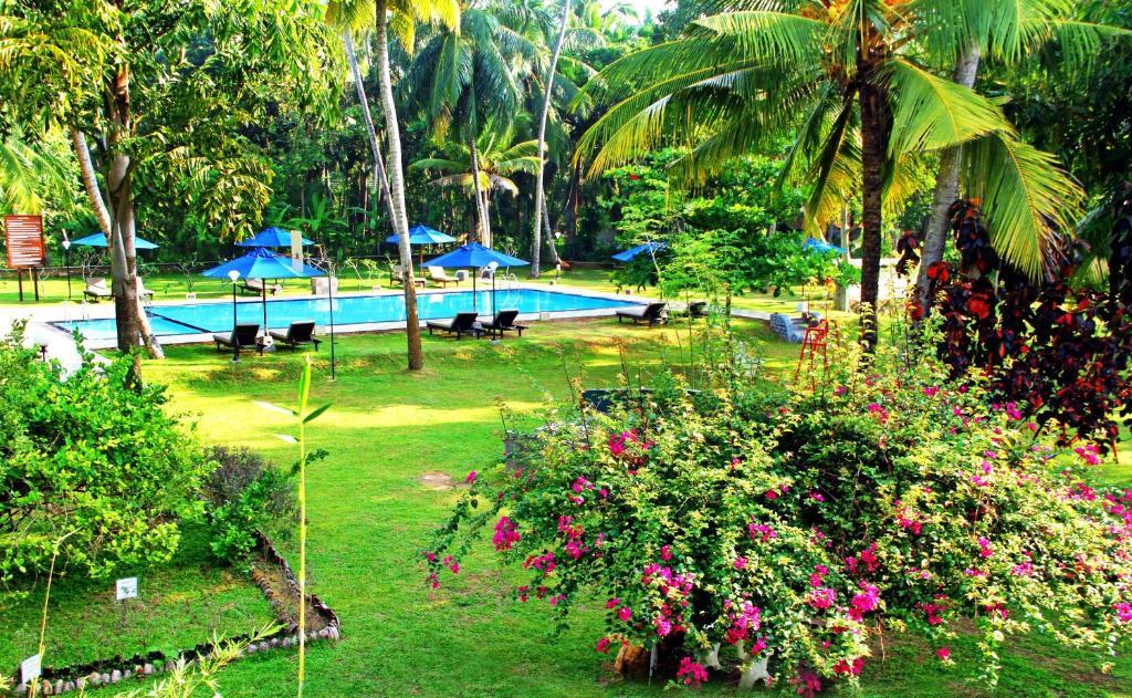 The swimming pool at or close to Oreeka - Katunayake Airport Transit Hotels