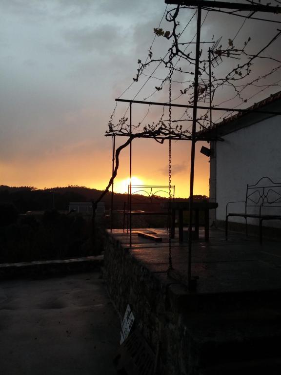 Wschód lub zachód słońca widziany z tego hostelu