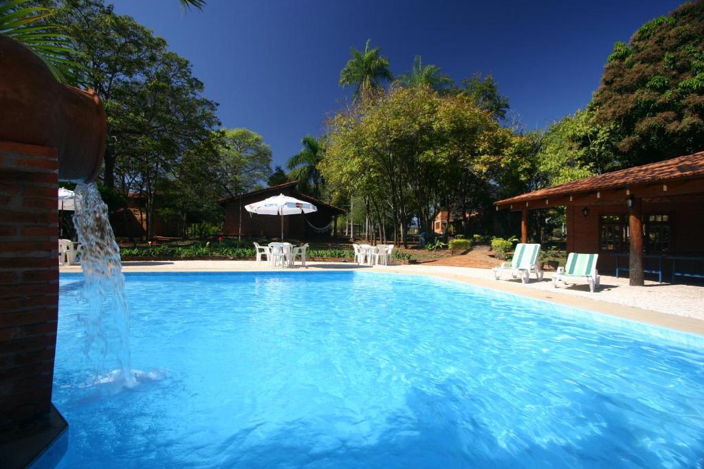 A piscina localizada em Pousada Olho D'Água ou nos arredores