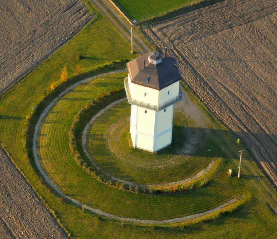 Letecký snímek ubytování Art Tower