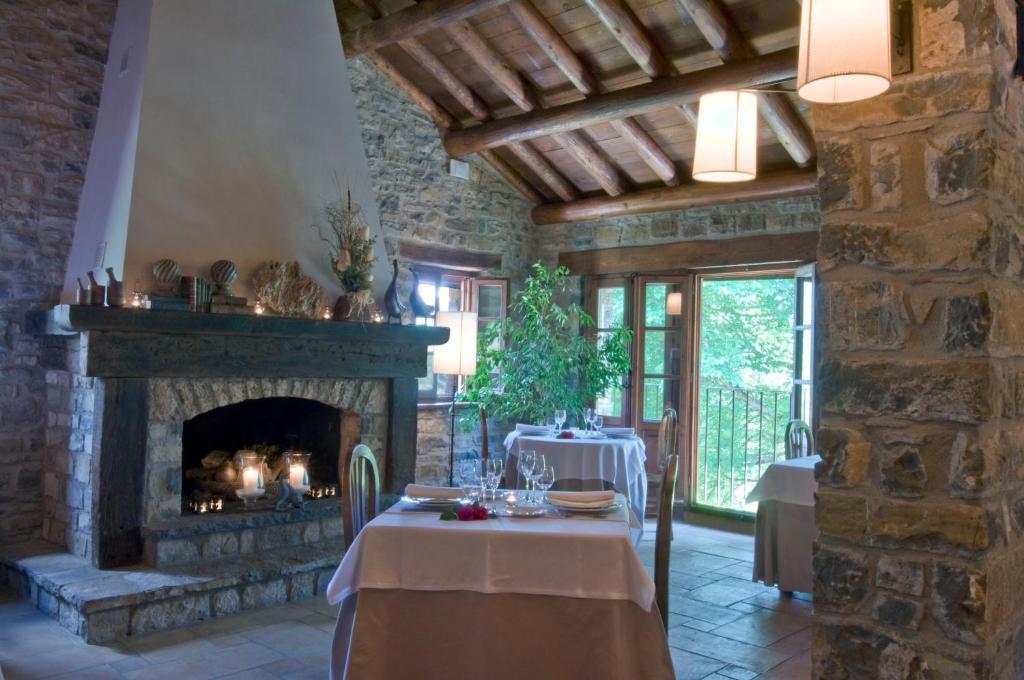 Un restaurante o sitio para comer en Casa de San Martín