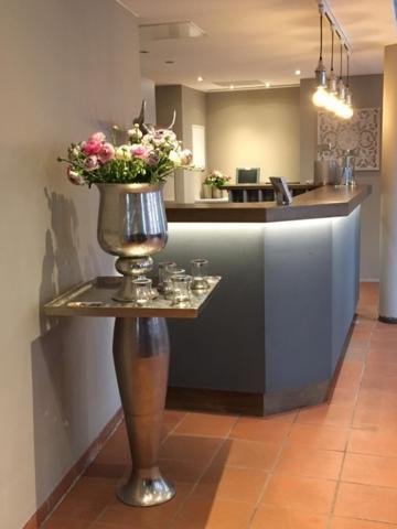 Лобби или стойка регистрации в Hotel Restaurant Haus Vorst
