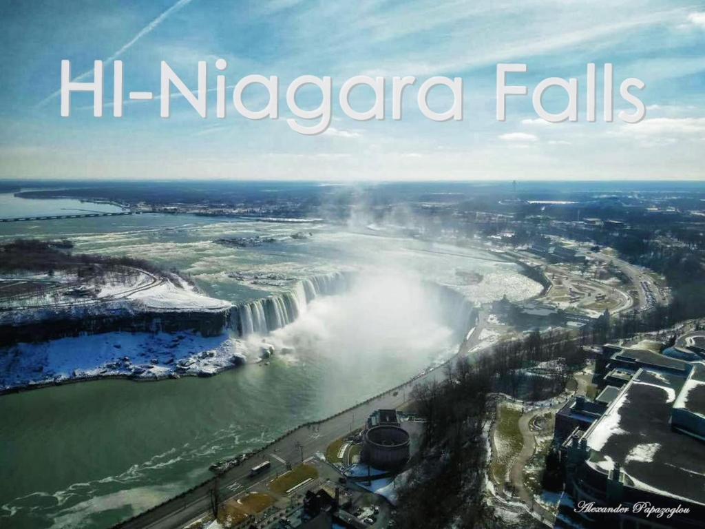 A bird's-eye view of Hostelling International Niagara Falls