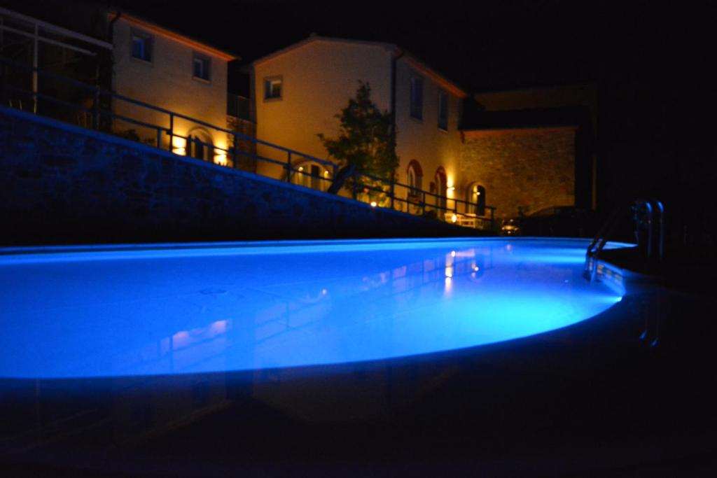 The swimming pool at or near Podere Delle Fanciulle