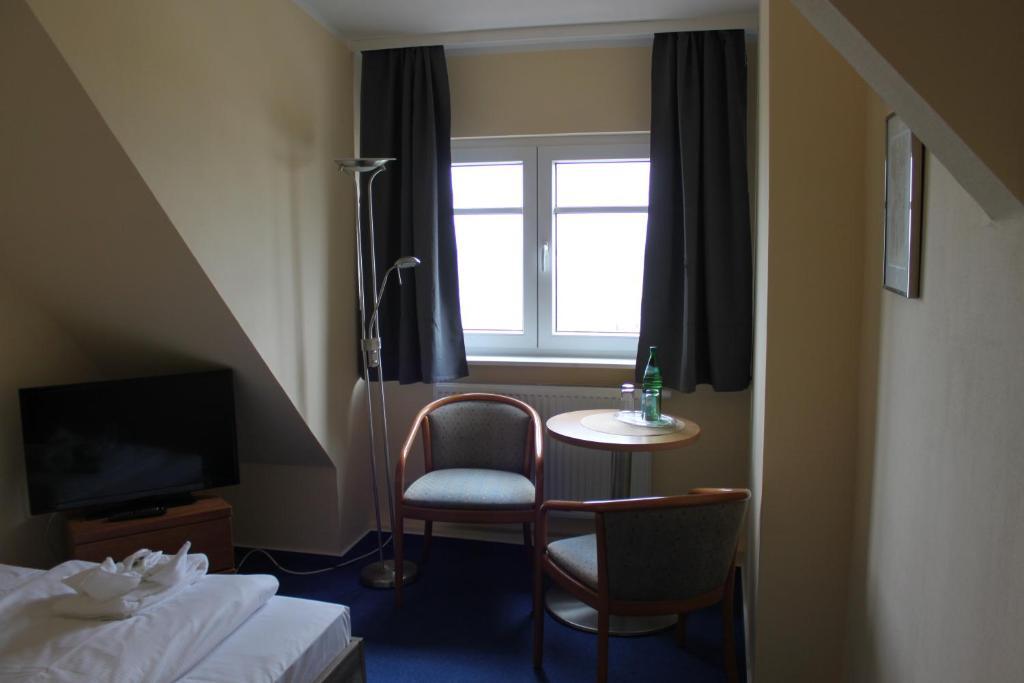 A seating area at Kur- und Ferienhotel Sanddorn