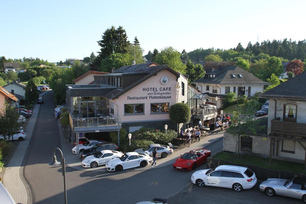 A bird's-eye view of Hotel Am Tiergarten