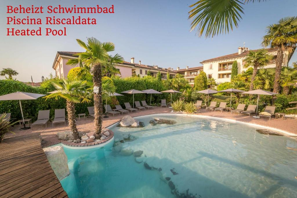 The swimming pool at or near Residence Hotel Palazzo Della Scala