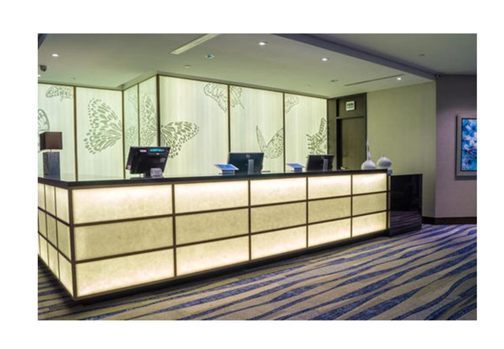 The lobby or reception area at Ambassador Transit Lounge Terminal 3