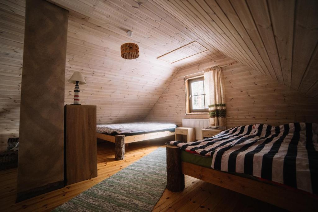 Кровать или кровати в номере Spitham Holiday Homes