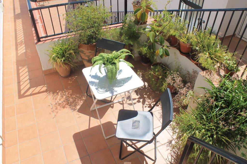 A balcony or terrace at La Posada de Mijas