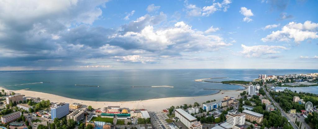 Vedere de sus a Constanta Residence Apartments