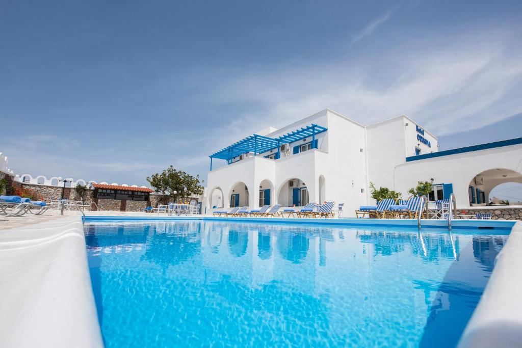 The swimming pool at or near Hotel Olympia