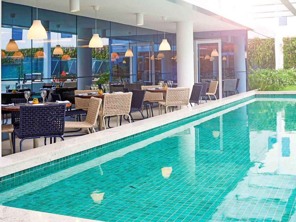 A piscina localizada em Novotel Rio de Janeiro Parque Olimpico ou nos arredores