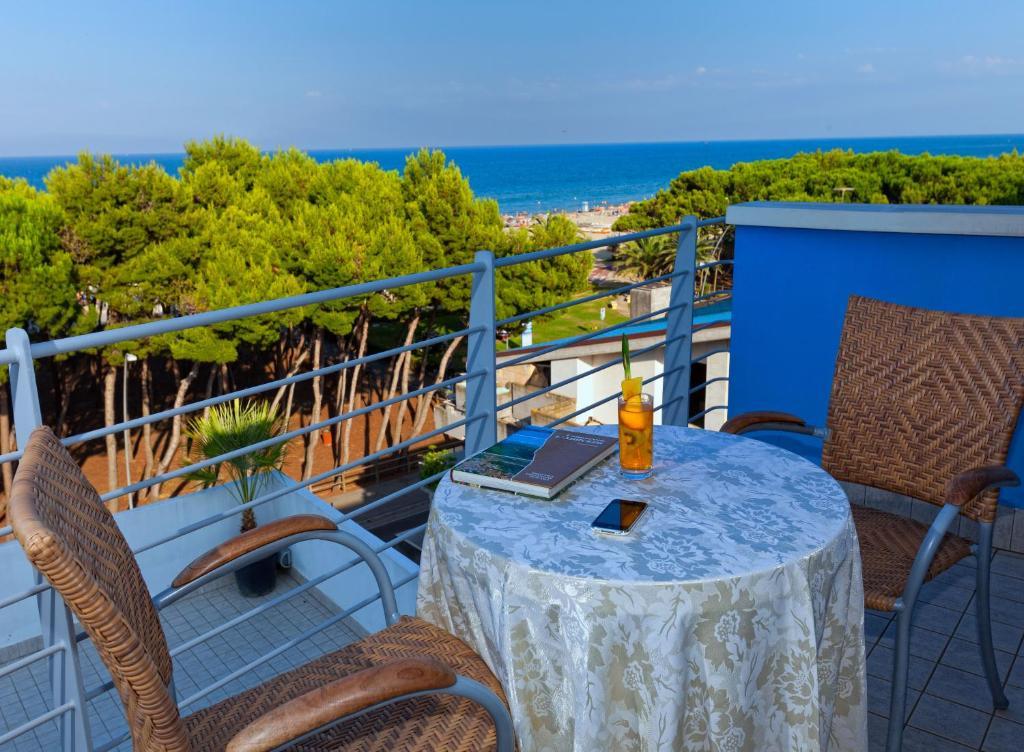 Balcone o terrazza di Hotel Antares