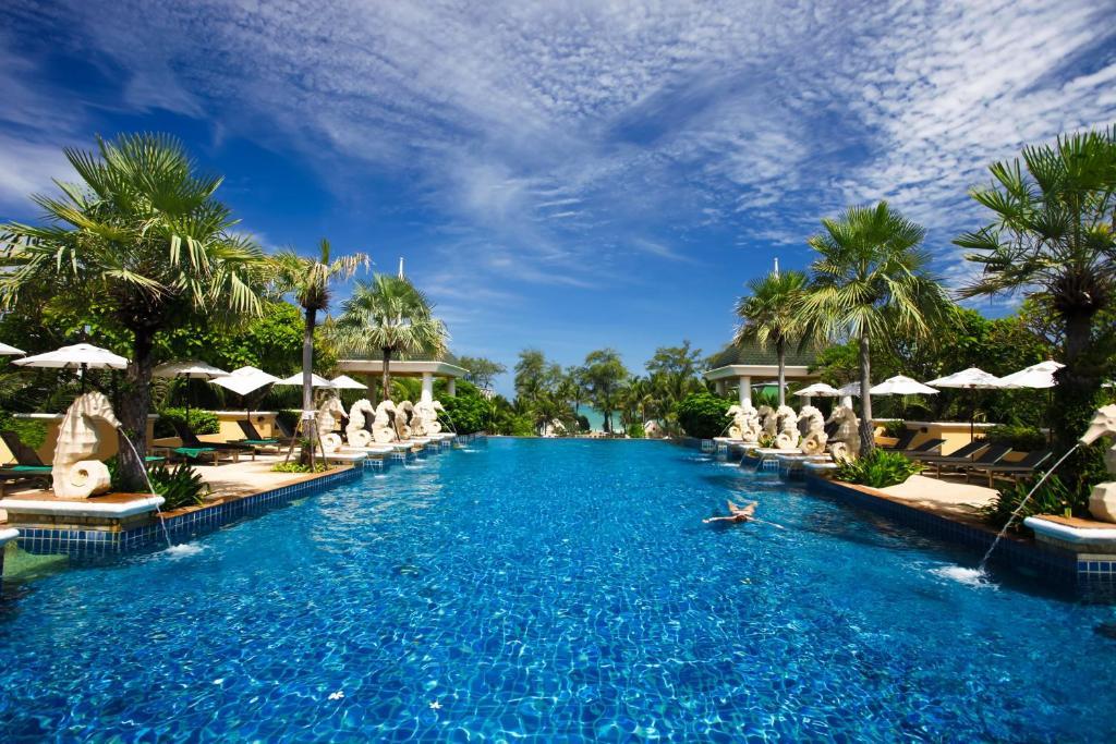 The swimming pool at or near Phuket Graceland Resort and Spa