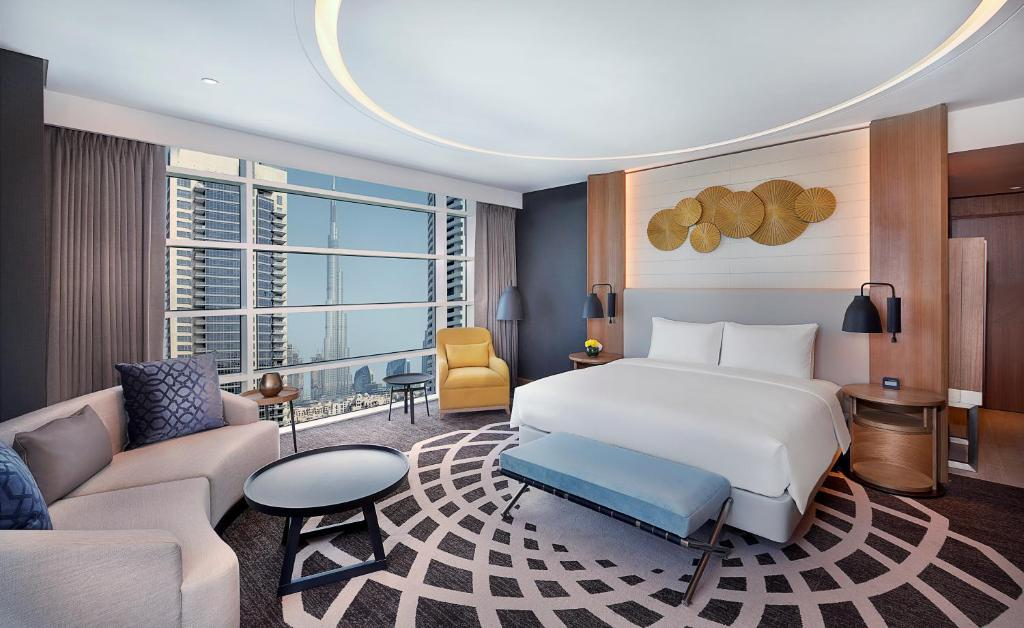 A room at the DoubleTree by Hilton Dubai - Business Bay.