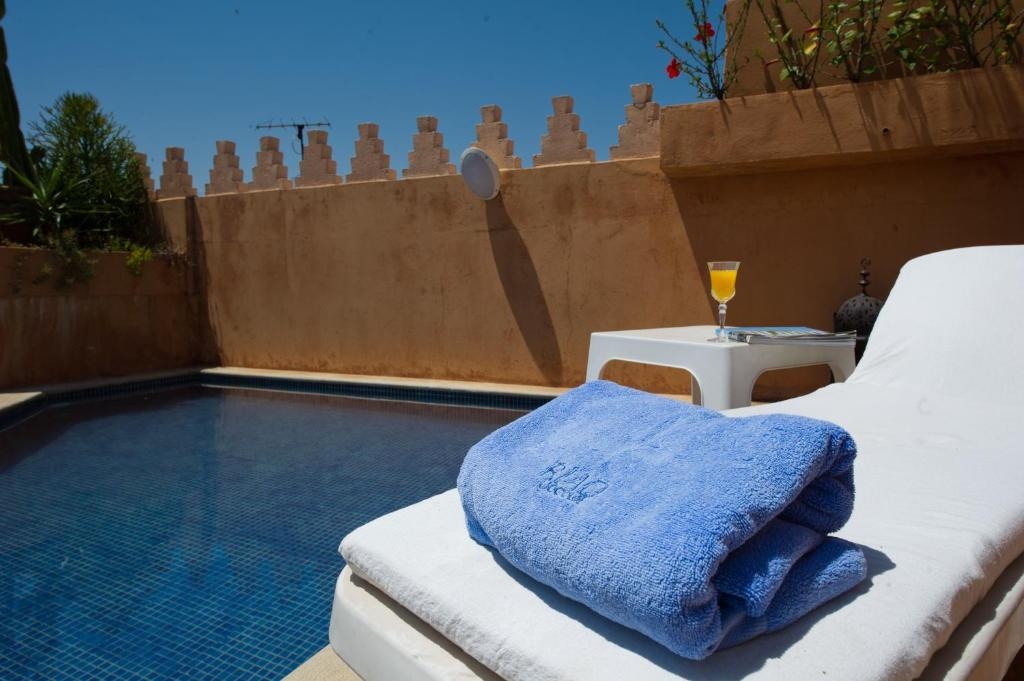 The swimming pool at or near Riad Yacout