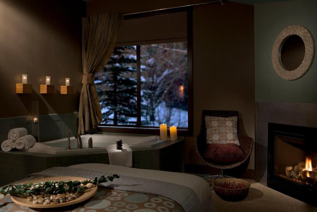 A room at the Hotel Trerra Jackson Hole.