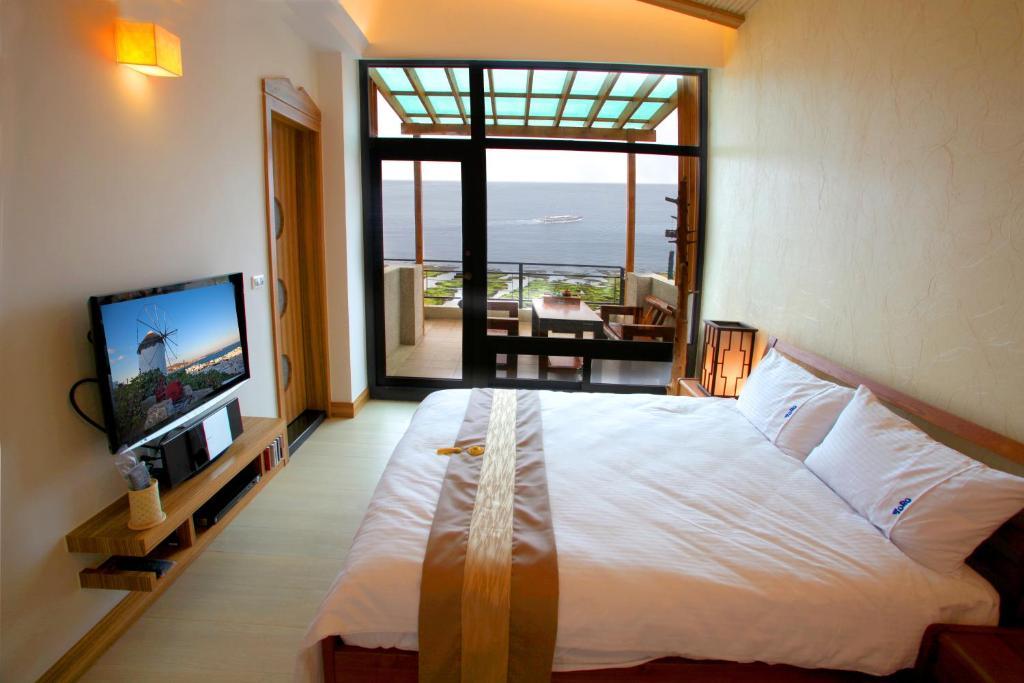 海景豪華雙人房-附陽台的相片(第 1 張)