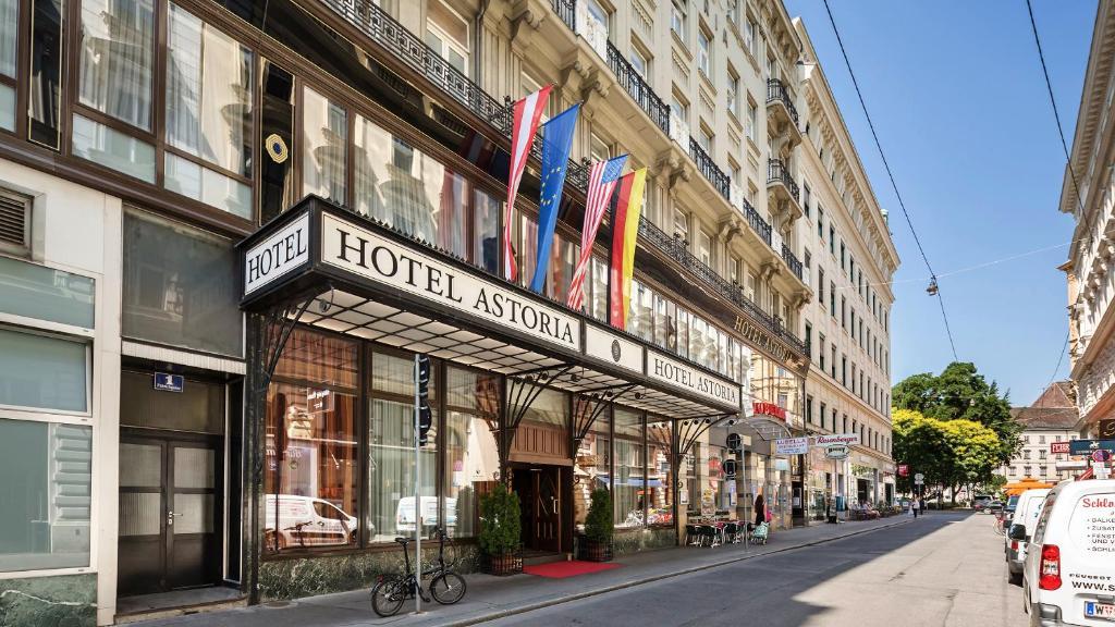 The Austria Trend Hotel Astoria Wien.