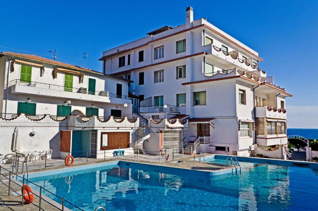 The swimming pool at or near Hotel Ariston Montecarlo