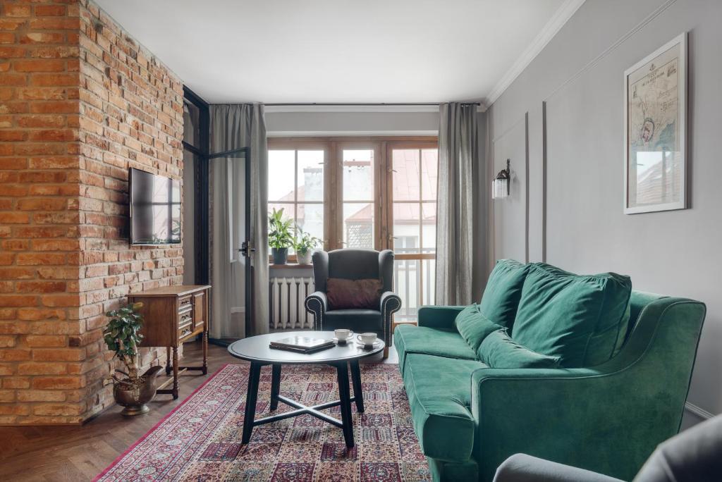 Część wypoczynkowa w obiekcie Apartament Kazimierz Superior