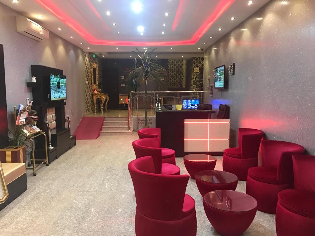 O saguão ou recepção de Seher Aloyon Funished Apartments
