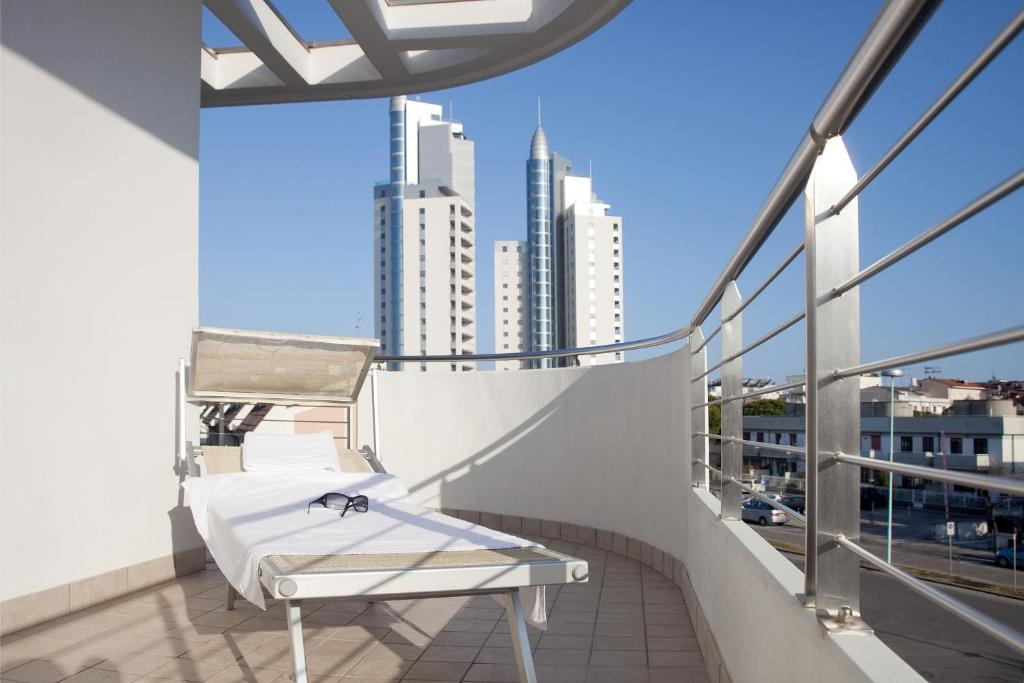 A balcony or terrace at Residence Speranza