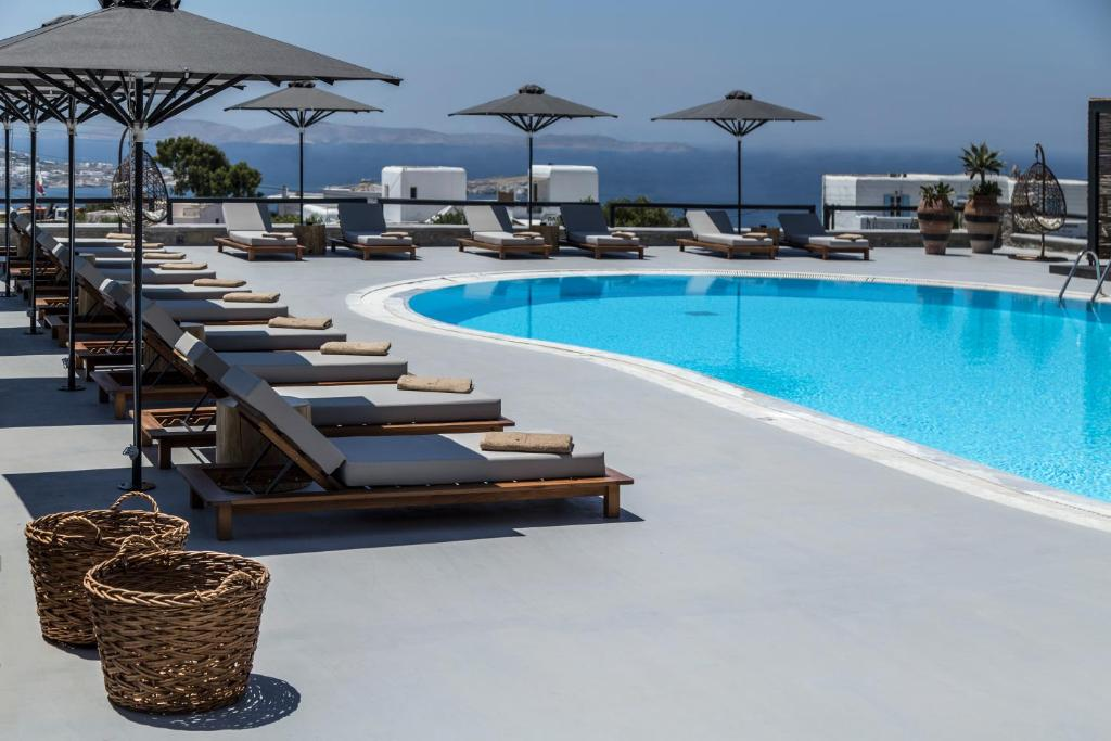 The swimming pool at or near My Mykonos Hotel