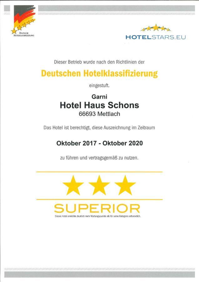 Hotel Haus Schons - Laterooms