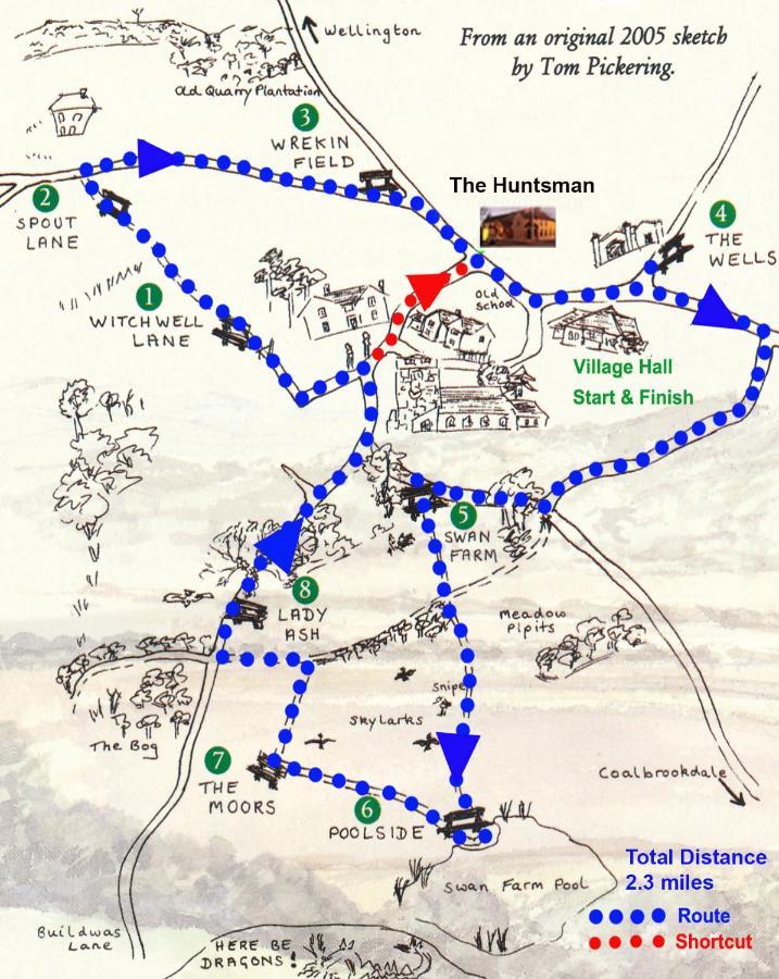 The Huntsman of Little Wenlock - Laterooms