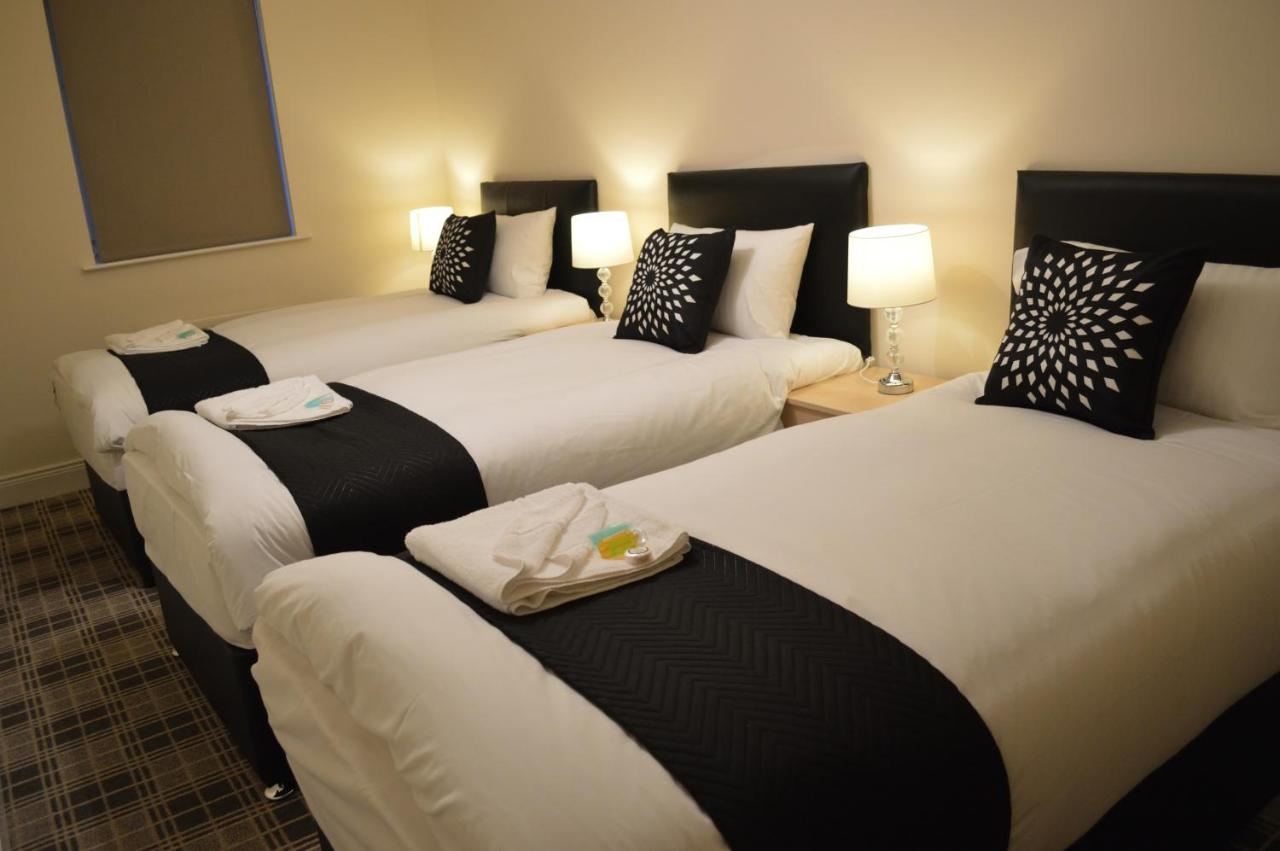 Sleeperz Hotel Newcastle - Laterooms