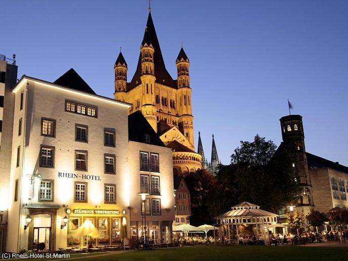 Rhein-Hotel St.Martin - Laterooms
