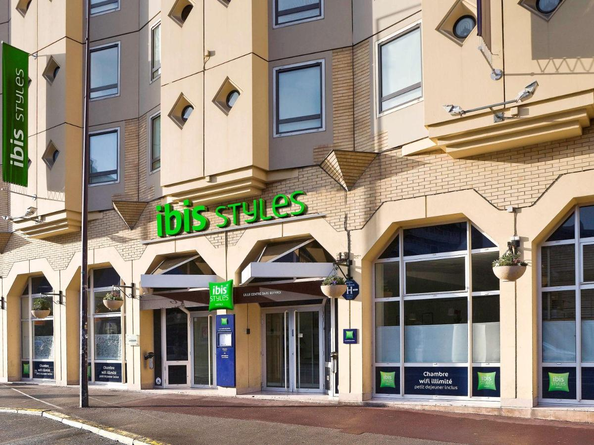 ibis Styles Lille Centre Gare Beffroi - Laterooms